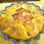 Richard's rhubarb pie