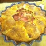 Richard's rhubarb pie