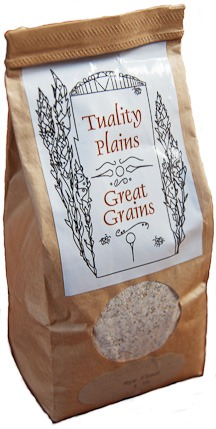 Small package of grains.